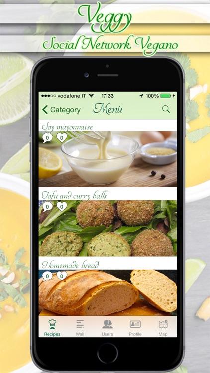 Veggy - The Vegan Social Network