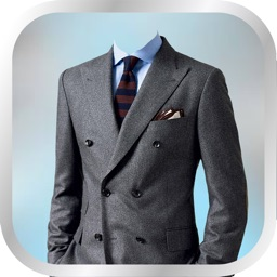 Men Fashion Suit Photo Montage