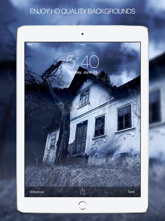 ... Screenshot #2 for Horror Wallpapers – Horror Arts & Demon Wallpaper ...