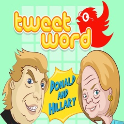 Donald & Hillary Daily Tweetword Puzzle