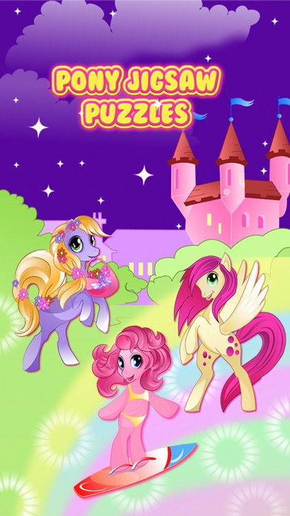 Pony Games for Girls My little Jigsaw Pony Puzzles
