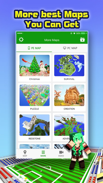 Mini Game Maps for Minecraft PE : Pocket Edition