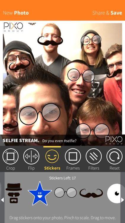 PIXO Selfie App!