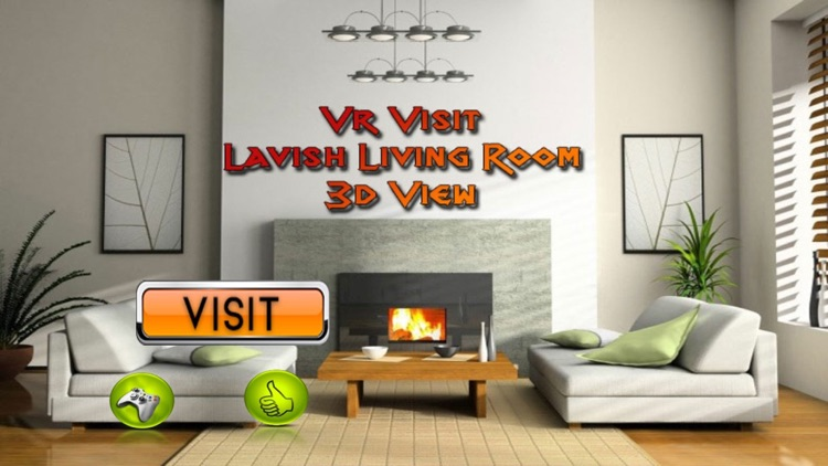 Vr Visit Lavish Living Room 3d View Pro By Coding Squares
