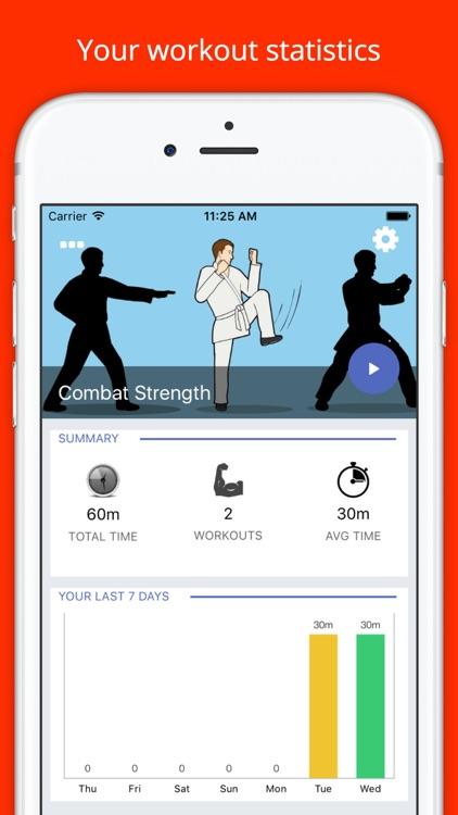 Combat Strength Workout Challenge Free - MMA Fight by
