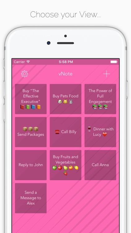 vNote - Visual Note screenshot-3