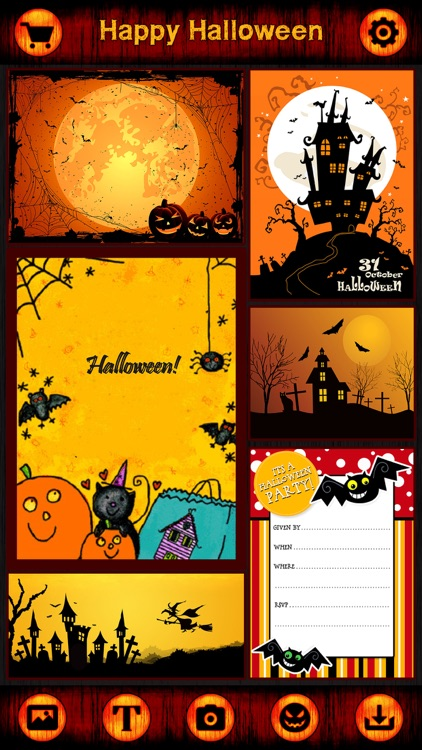 Pro Halloween Cards, Stickers, Frames for Greeting screenshot-3