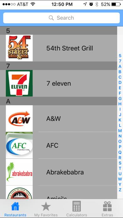 Smart Fast Food Calculator Appのおすすめ画像1