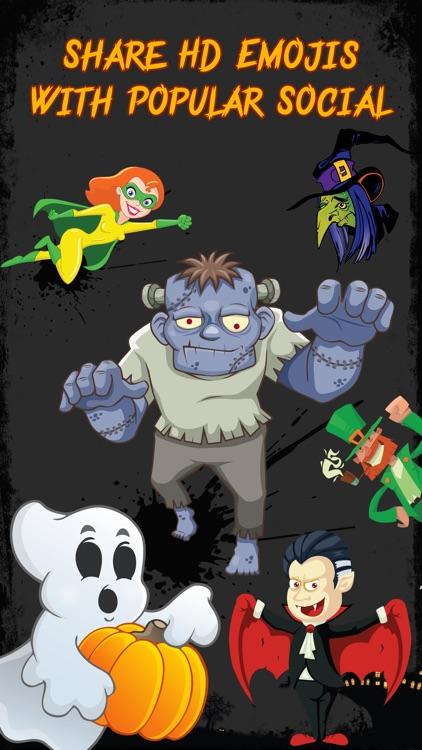 Halloween Emojis - Scary Emoji Icons & Stickers! screenshot-3