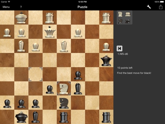 Shredder Chess for iPad iPad