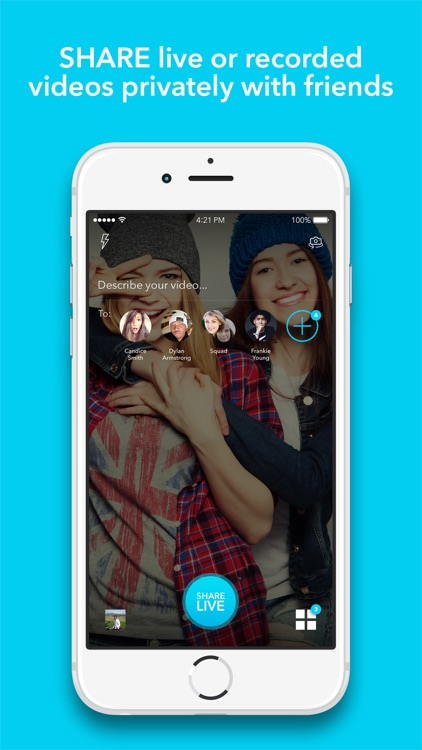 Alively - Video Sharing With Friends