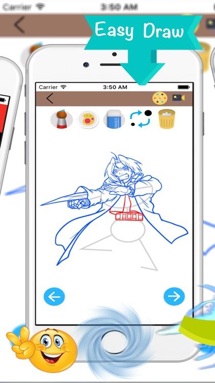 How to Draw Anime drawing screenshot-3