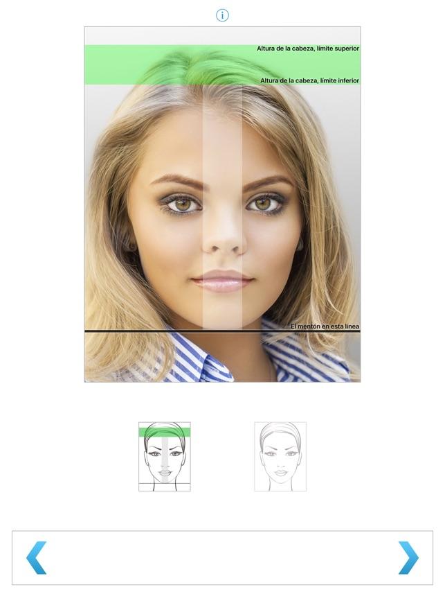 Fotografia Para Pasaporte en App Store