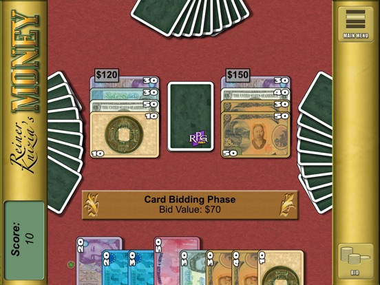 Screenshot #1 for Reiner Knizia's Money