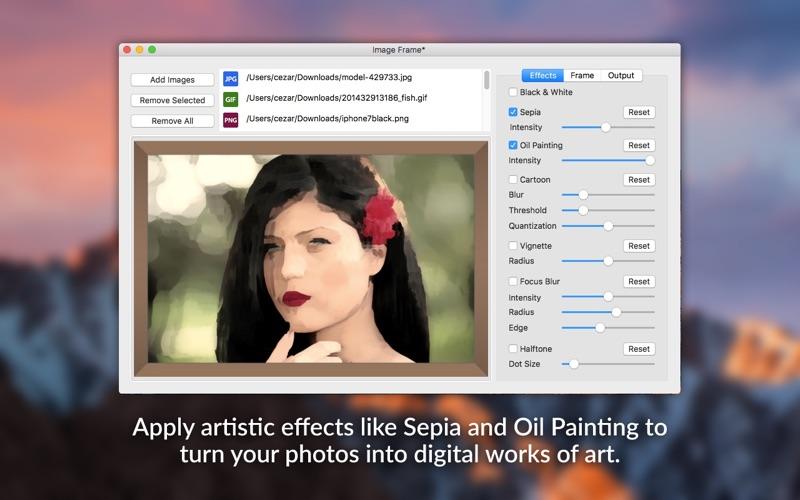 Image Frame - Beautiful Photo Frames and Effects скриншот программы 2