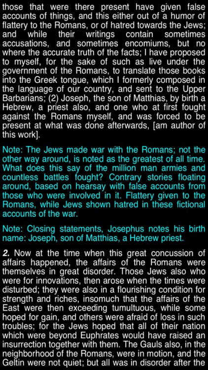 Summary Flavius Josephus (part 6) screenshot-3