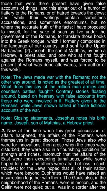 Summary Flavius Josephus (part 6) screenshot-3