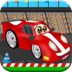 Race Cars! Car Racing Games for Kids Toddlers