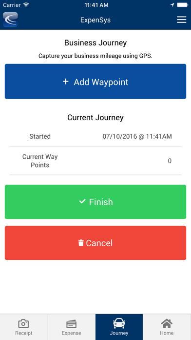 ExpenSys Mobile 2 screenshot three