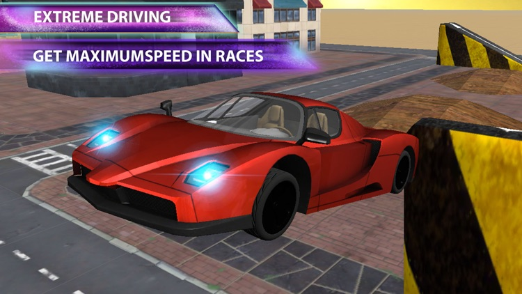 Street Racing Trial - Car Driving Simulator 3D With Crazy Traffic