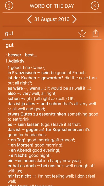 Concise Oxford German Dictionary screenshot-3