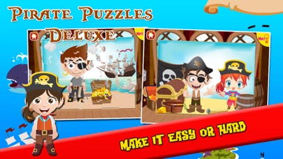 Pirate Puzzles: Jigsaw Puzzles for Kids Deluxe screenshot four