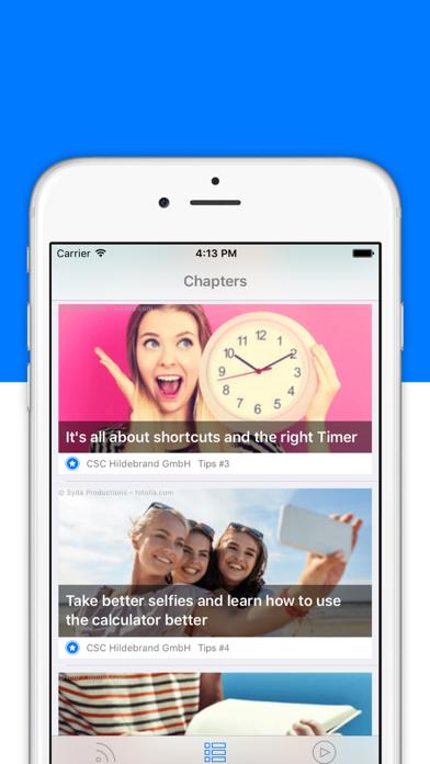 トリック&ティップス –iPhone & iPadのスクリーンショット1