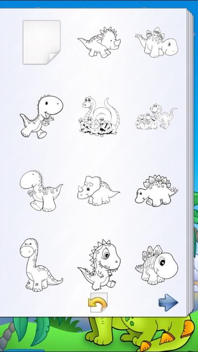 恐竜のぬりえの本!スクリーンショット3