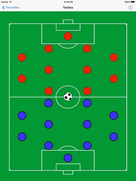 Soccer Formation Light screenshot-3