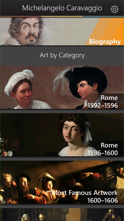 Caravaggio Art Gallery & Virtual Museum