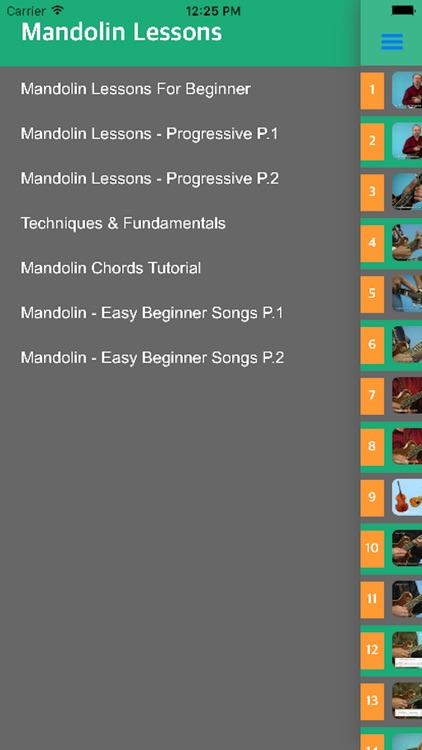 Mandolin Tuner - Learn How To Play Mandolin With Videos screenshot-4