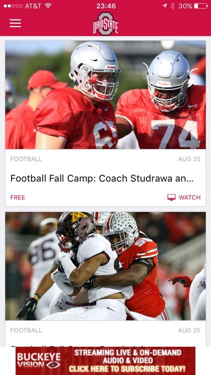 Ohio State Buckeyes Gameday LIVE screenshot-4