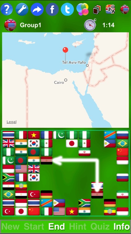 Flag Solitaire by SZY screenshot-3