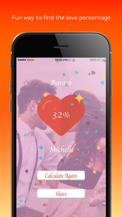 True Love Calculator - Find your love percentage