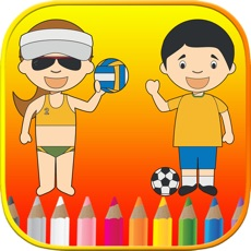Activities of Sports Coloring Book - Free Color Pages For Kids