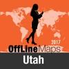 Estado de Utah mapa offline y guía de viaje