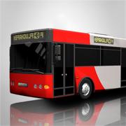 大市公交车司机模拟器2016年:3D教练驾驶和停车游戏学院