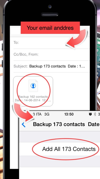 Backup Contacts ( save , export and restore ) screenshot-4