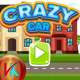 Speedy Crazy Jumping Car Kids Game