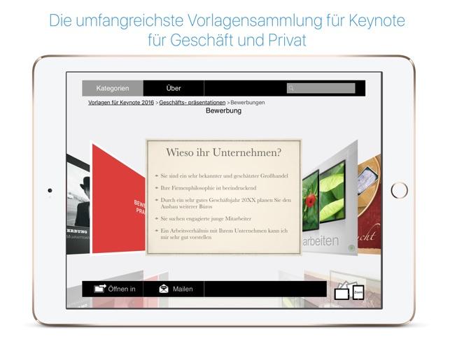 Vorlagen für Numbers & Keynote Ed. 2017 im App Store
