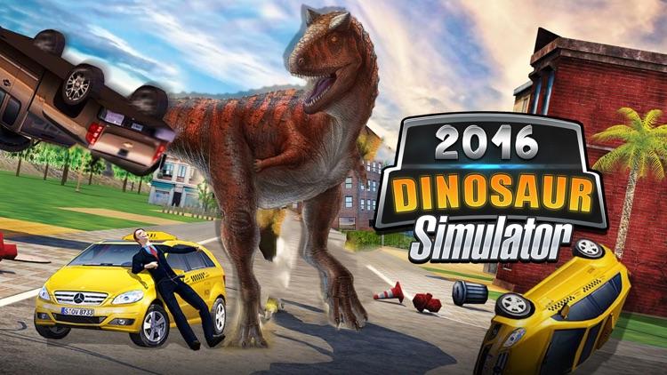 2016 Dinosaur simulator park Dino world fight-ing screenshot-4