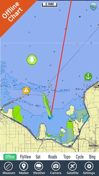 Lake Okeechobee Florida Hd Gps Fishing Chart Revenue And Downloads