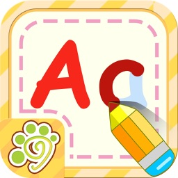 Preschool alphabet English ABC writing for kid