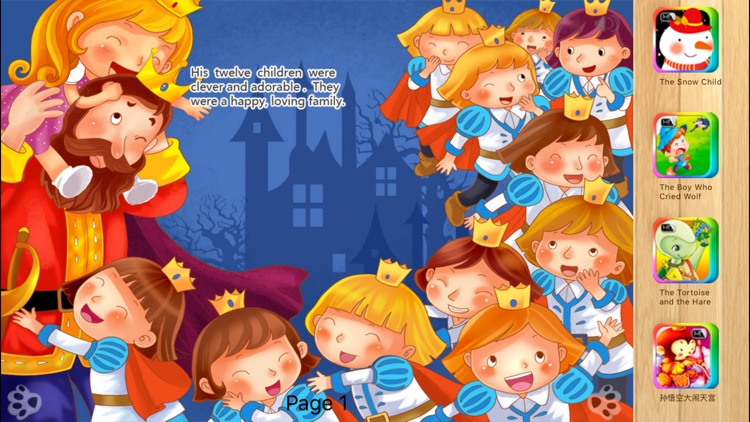 The Wild Swans - Bedtime Fairy Tale iBigToy screenshot-3