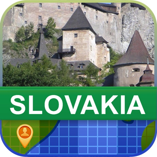 Offline Slovakia Map - World Offline Maps