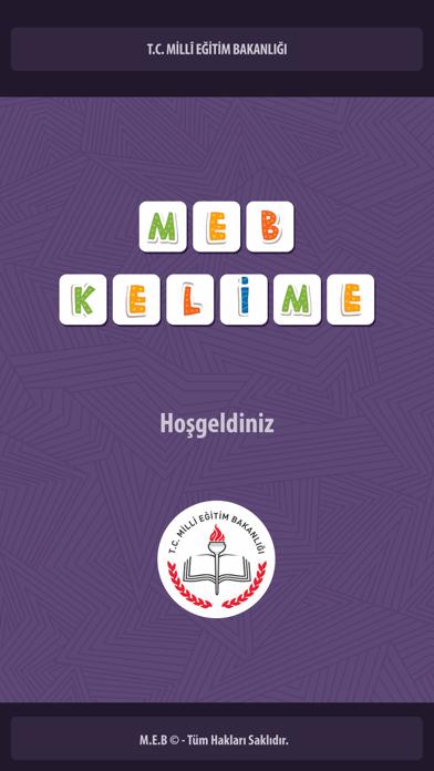 MEB-Kelime screenshot one