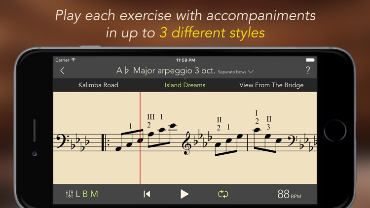 SmartScales - backing tracks suitable for ABRSM screenshot-3