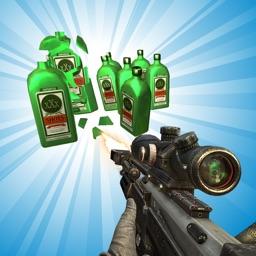 Sniper Bottle Shooter : Bottle Flip Challenge