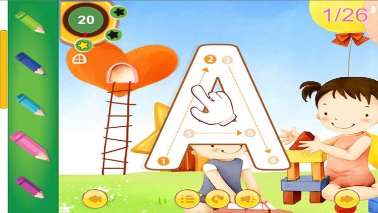 ABC Alphabet Phonics and Tracing for Preschool screenshot-4