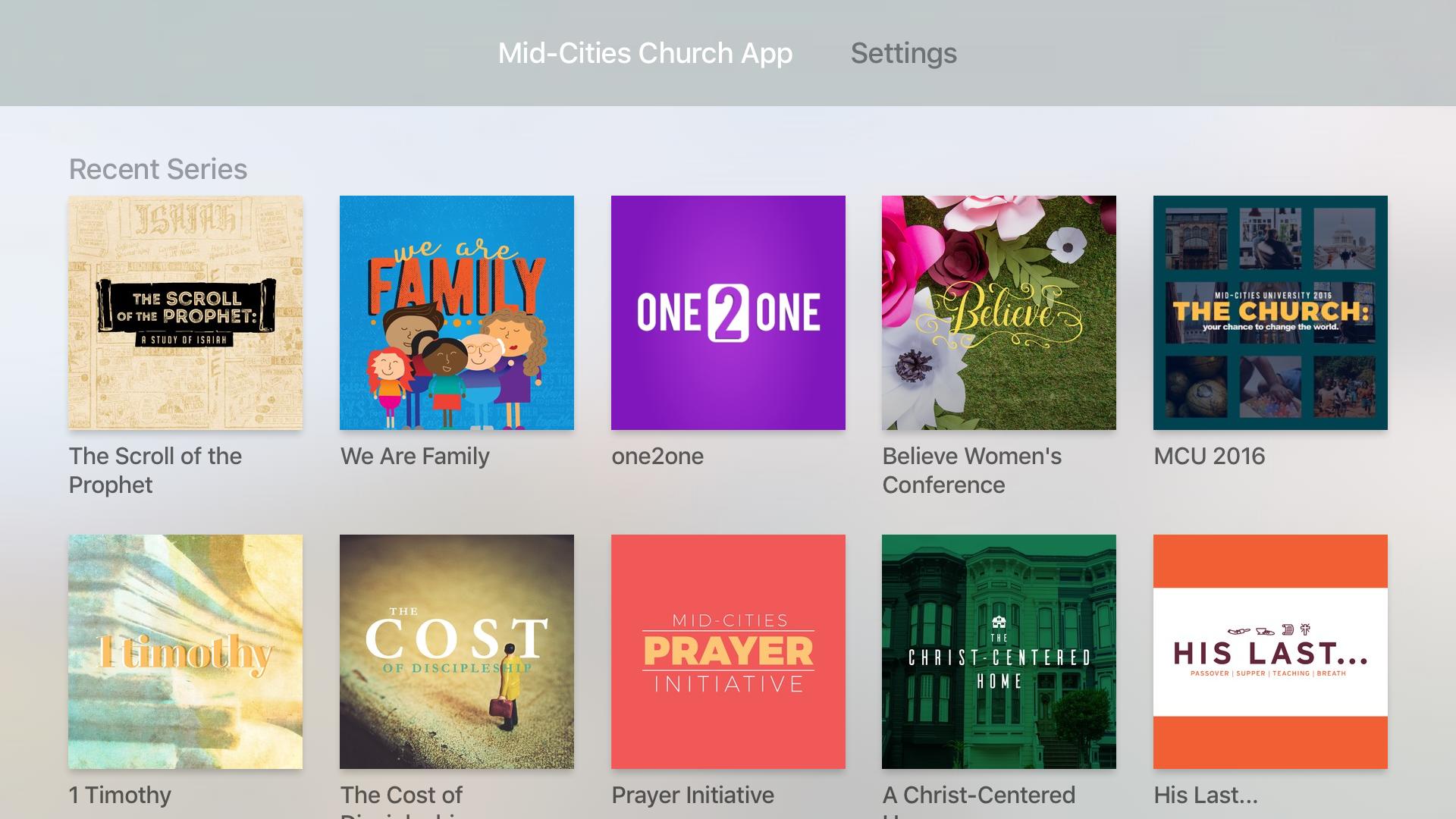 Mid-Cities Church App screenshot 7